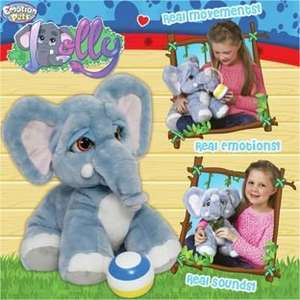 Lolly The Elephant Plush Toy. £31.99 at Argos