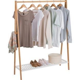 Bamboo Clothes Rail £14.99 @ Argos