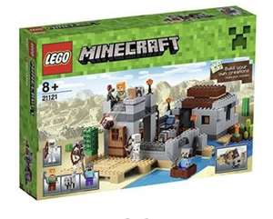 LEGO Minecraft The Desert Outpost 21121, £35.49 at Amazon delivered