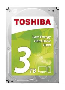 Toshiba E300 3 TB 3.5-Inch Retail Kit Low-Energy Hard Drive £66 delivered @ AMAZON