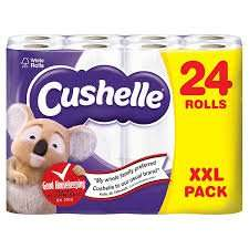 Cushelle 24 pack £7.99 at Lidl
