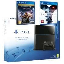 The Game Collection - PlayStation 4 Console 1TB with Destiny: The Taken King Legendary Edition & Killzone: Shadow Fall (PS4) £269.95