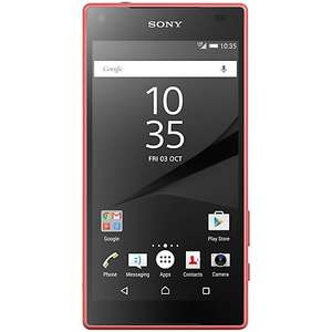 Sony Z5 Compact Coral Tesco Direct £299