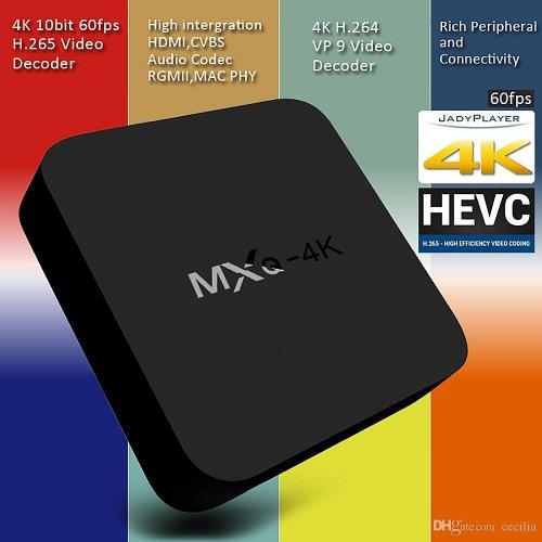 MXQ 4K RK3229 Android 4.4 1GB/8GB H.264/H.265 10Bit WIFI LAN KODI 16.0 HDMI DLNA AirPlay Miracast TV Box Android/ £30.43 /free del BangGood