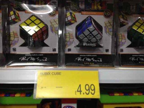 Rubik's Cube £4.99 @ B&M