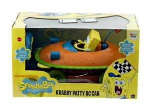spongebob krabby patty rc car £5 @ b&m