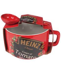 Heinz mega soup bowl and Spoon Set £4.99 was £12.99 @ Argos