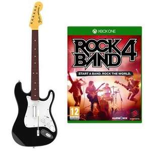 Rock Band 4 + Guitar £59.99 xbox one + PS4 @ GAME.CO.UK
