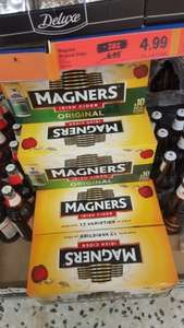 Magners 10 can pack and Somersby 12 can pack of cider only £4.99 at Lidl!