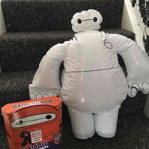 Baymax Big Hero 6 Bath Pillow 49p @ Home Bargains
