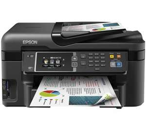 Epson WorkForce WF-3620DWF All-in-One Wireless Inkjet Printer with Fax £89.99 plus 30 cash back @ pcworld