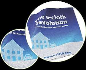 Free E-cloth sample.