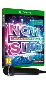 Now That's What I Call Sing! with usb mic |(Xbox One) £17.00 @ Asda