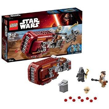 LEGO Star Wars 75099: Rey's Speeder. £14.52 (Prime) / £18.52 (non Prime) @ Amazon
