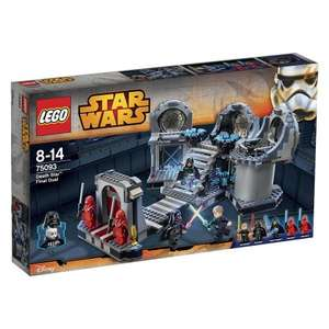 LEGO Star Wars - Death Star Final Duel - 75093 £55.97 Asda George and free C+C (rrp £69.99)
