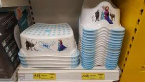 Disney Frozen Potty and Step Stool Reduced from £6 each to only £1.50 each! @ Tesco Instore