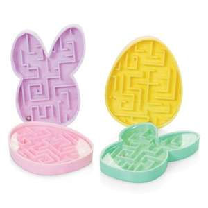Easter Egg / Easter Bunny Shaped Maze Puzzles were 30p now 12p each @ Hawkin's Bazaar (free C+C)