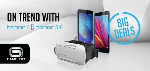 Vmall.eu Flash Sale Feb 25th - Honor 7 and Honor 5x