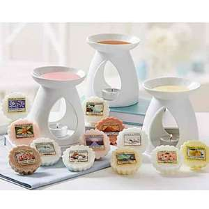 Yankee candle tart burners and tarts £19.50 delivered at Fifty Plus