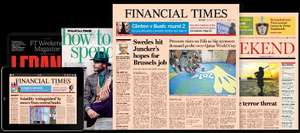Financial Times Print and Digital subscription 4 weeks for £1.