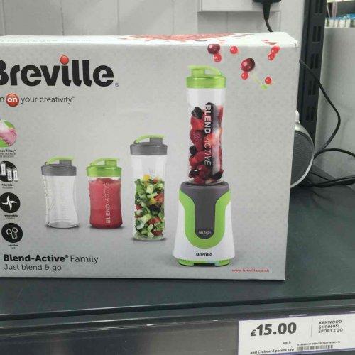 breville blend active family for £ 15 in tesco