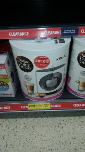 nescafe dolce gusto coffee maker £24.88 @ tesco Lichfield