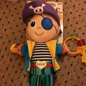 Lamaze pirate rattle baby toy- Widnes tesco £1.71