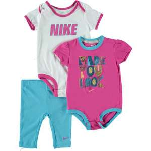 NIKE Three Piece Baby Set now £12.99 with Free C&C at TK Maxx