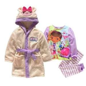 Argos Doc mcstuffin girls nightwear bundle  £6.99
