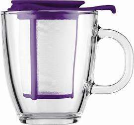 BODUM Yo Yo Mug & Tea Strainer Set (7 colours available) now £6.99 C&C at Currys