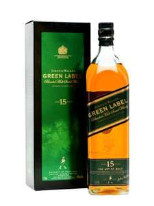 JOHNNIE WALKER GREEN LABEL 15 YEAR OLD  1 Litre - £59.95 @ The Whisky Exchange