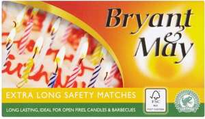 Bryant May Extra Long Matches Reduced to Clear 0.27p @ Asda Instore Only