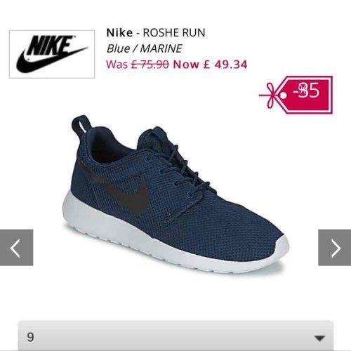 Nike Roshe £49.34 delivered @ Spartoo
