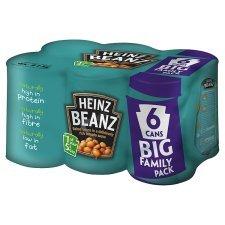 Heinz Baked Beans In Tomato Sauce 6 X 415G £2.00 @ Tesco