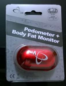 V-fit Pedometer + Body Fat monitor scanning at 50p @ Tesco instore