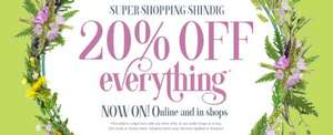 White Stuff 20% off all non sale goods 24th & 25th February