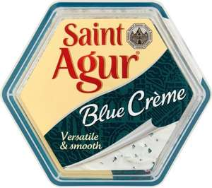 Creme de Saint Agur Blue Cheese Spread (150g) was £2.00 now Only £1.00 @ Sainsbury's