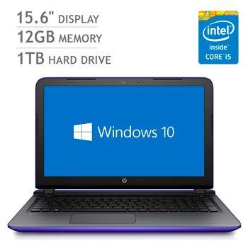 HP Pavilion Notebook (12GB DDR3 RAM, 1TB HD, Intel i5-5200u Processor) 15-ab240na £391.02 @ HP - Also 3/6% Cashback... I got mine for £371!!