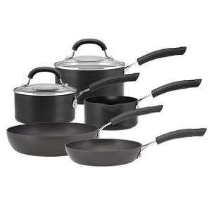 Circulon hard-anodized non-stick 5 Piece Pan Set DELIVERED was £200 @ The Original Factory Shop