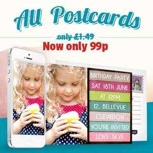 ALL POSTCARDS 99P (2 DELIVERED FOR JUST £1.98) AT funkypigeon