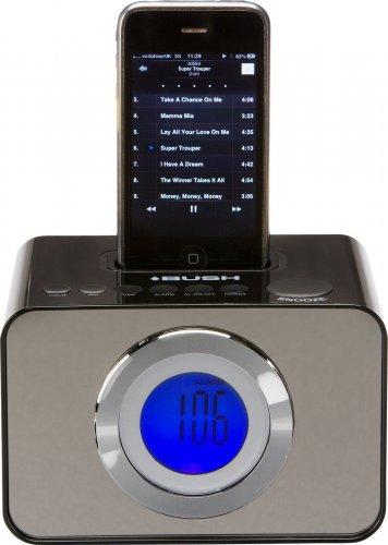 Bush LCD Alarm Clock FM Radio with iPod Dock £6.99 delivered @ Argos / eBay