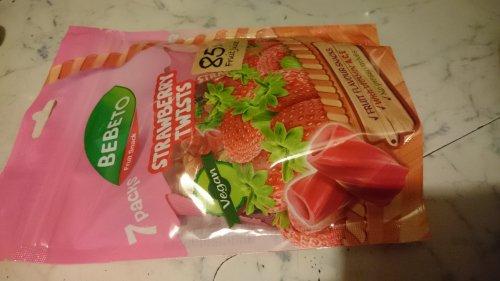 Bebeto Vegan Strawberry twists / sweets £1.50 in Primark Middlesbrough