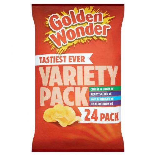 24 pack Golden Wonder crisps £2.00 instore in Morrisons