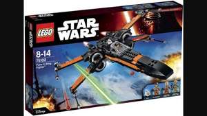LEGO Star Wars  Poe's X-Wing Fighter  75102 £45.97 @ Asda