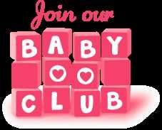 Johnsons baby club collect points for rewards ,selected items 50% off