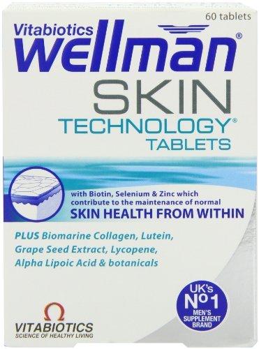 Vitabiotics Wellman Skin Technology Tablets - 60 Tablets £5.99  (Prime) / £9.98 (non Prime) @ Amazon