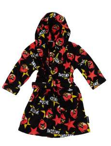 Angry Birds Hooded Dressing Gown (Was £17.00) Now £6.00 at M&S (Free C&C)