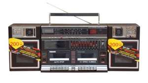 ORIGINAL 1986 (MAXIM) BOOMBOX NEW/OLD STOCK £34.95 INC DEL @ AUDIO ELECTRICAL (eBay)