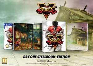 Street Fighter 5 PS4 Steelbook Edition inc. Ken Comic Book & Madcatz Fightstick Alpha - £89.99 @ GAME
