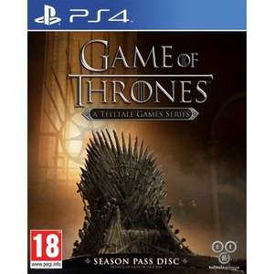 [PS4] Game of Thrones (Season Pass Disc) - A Telltale Games Series - £9.99 - TheGameCollection